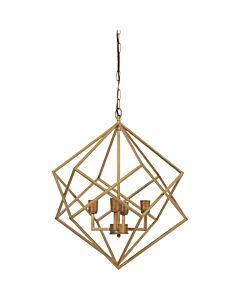 Hanglamp4L61x68cmDrizellaGoud