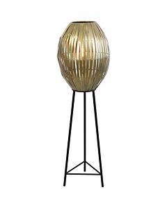 Vloerlamp42x137cmKyomiAntiekBrons
