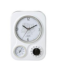 American Diner Clock