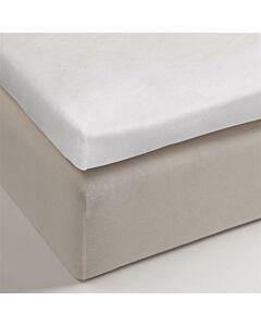 Molton Multifit  Splittopper  White 200 x 200/220 cm HH: 40 cm