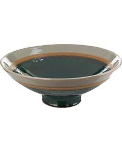 Dish layers green grey